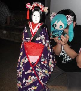 人形浄瑠璃 文楽人形1